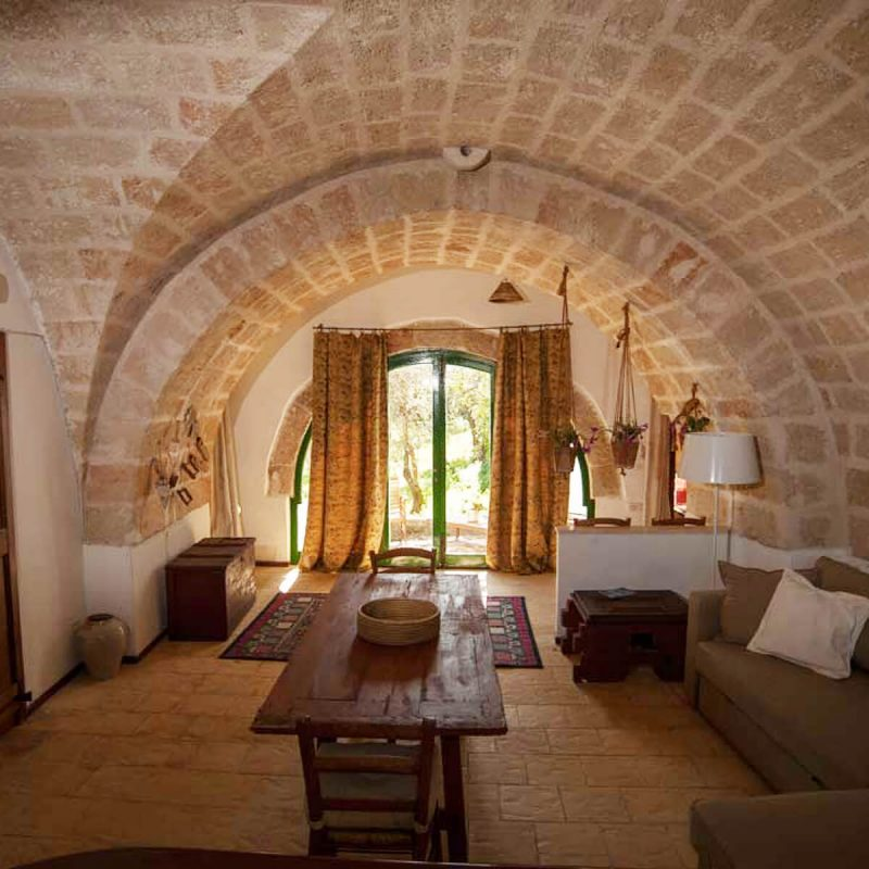 Masseria Spina Resort in Puglien Zimmerbeispiel